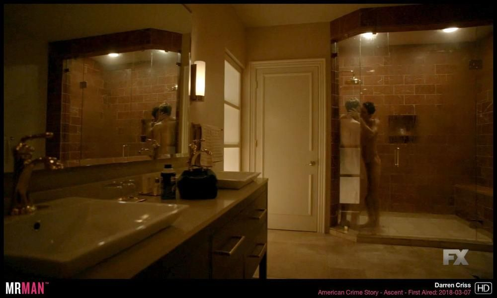 Shower scene in American Crime Story